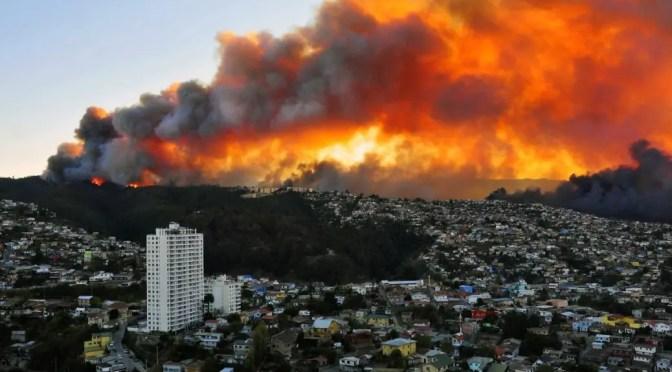 Vivir peligrosamente en Valparaíso