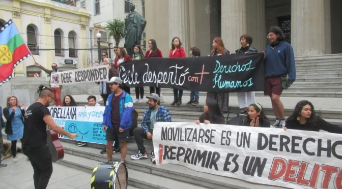 Por Matías Orellana: presentan recurso de protección para impedir uso de lacrimógenas como proyectiles de agresión