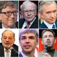 2020 comienza con los súper-ricos del planeta más ricos aún
