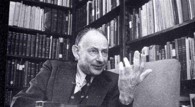 La viscosa  infamia de Gershom Scholem