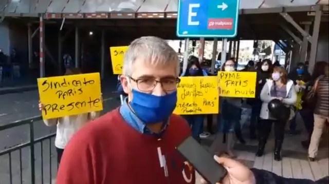 Trabajadores CENCOSUD De Santiago, Los Ángeles y Los Andes se movilizan
