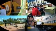 Collage de algunos talleres y del cine de terror