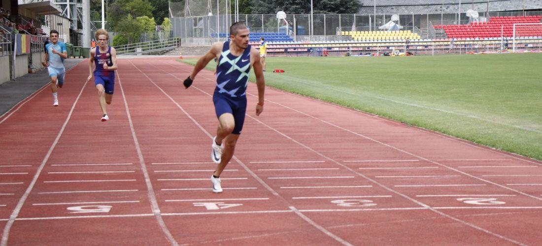 Bruno Hortelano, millor marca espanyola de tots els temps en els 150m