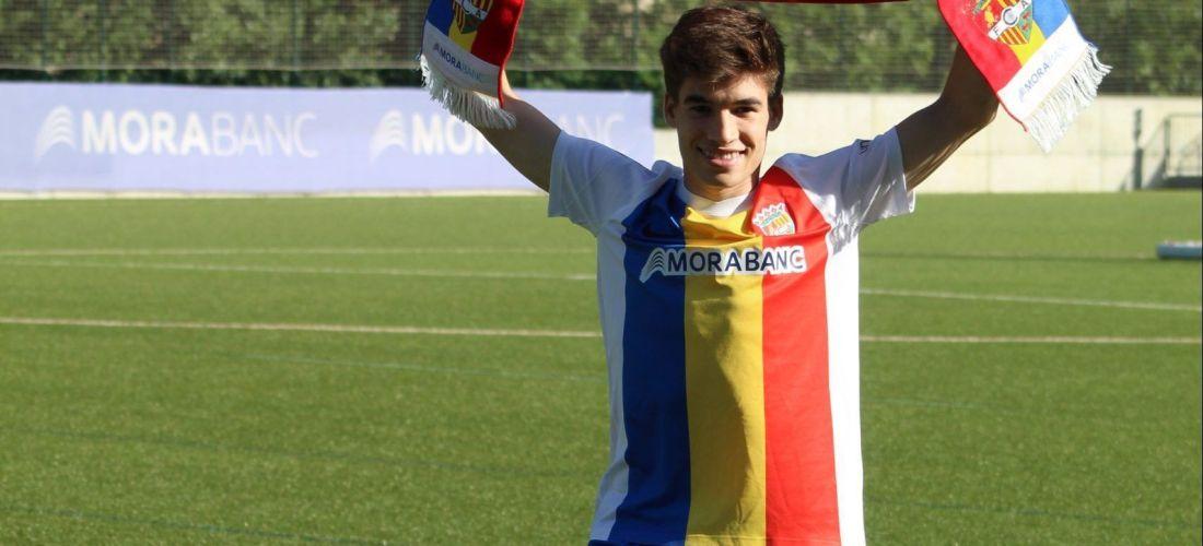 Sergi Serrano, nou jugador de l'FC Andorra