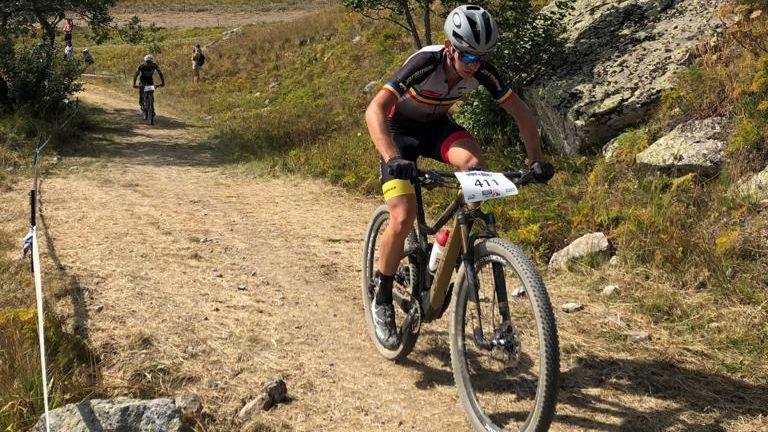 Gran carrera de Kilian Folguera a Alpe d'Huez