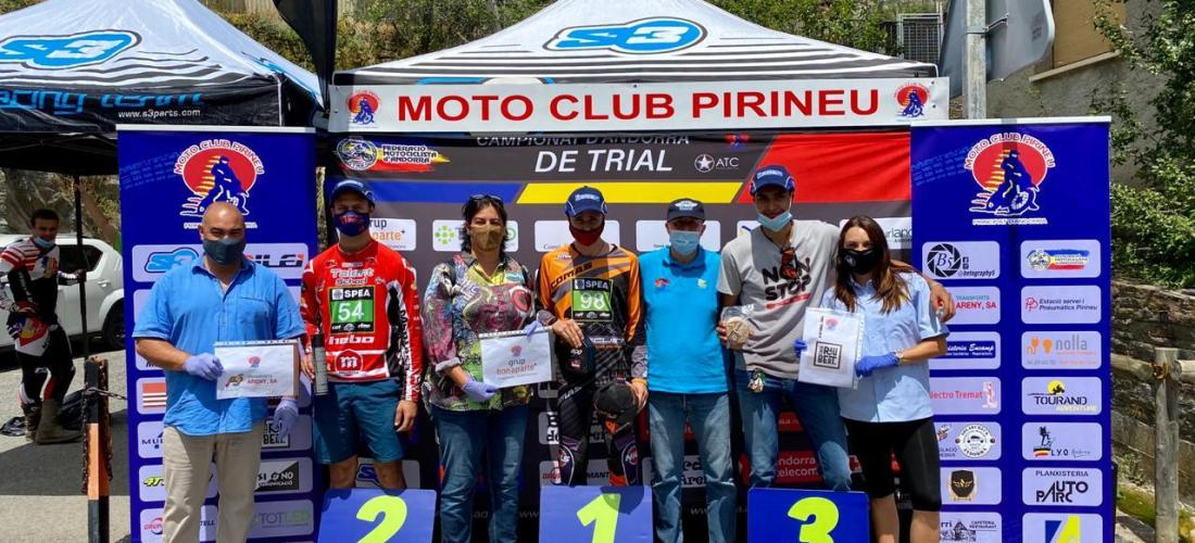 Pi, Arimany, Kikou, Navarro i Garcia guanyen el Trial de Pal