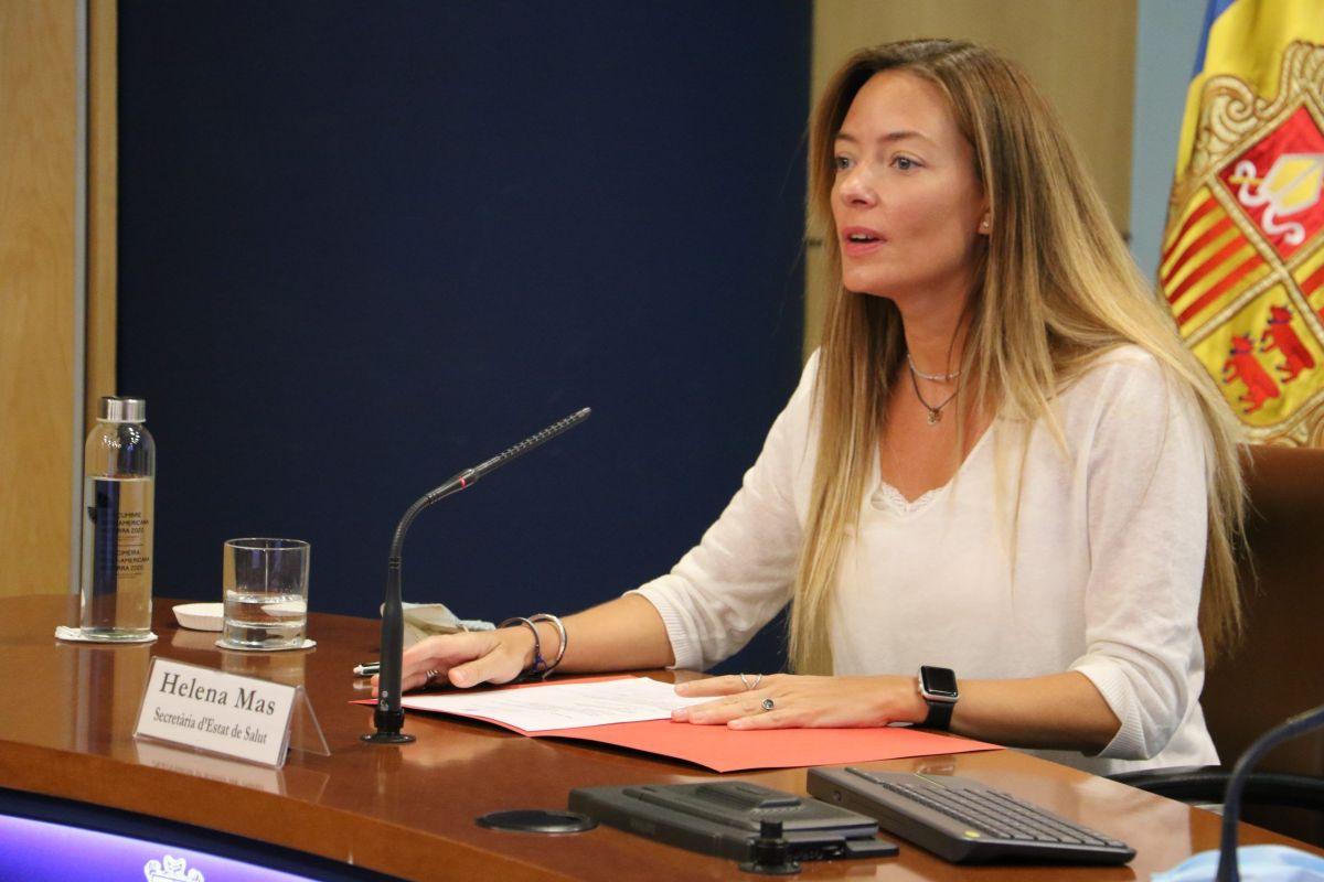 Helena Mas confirma que segueixen les restriccions de públic pels esdeveniments esportius