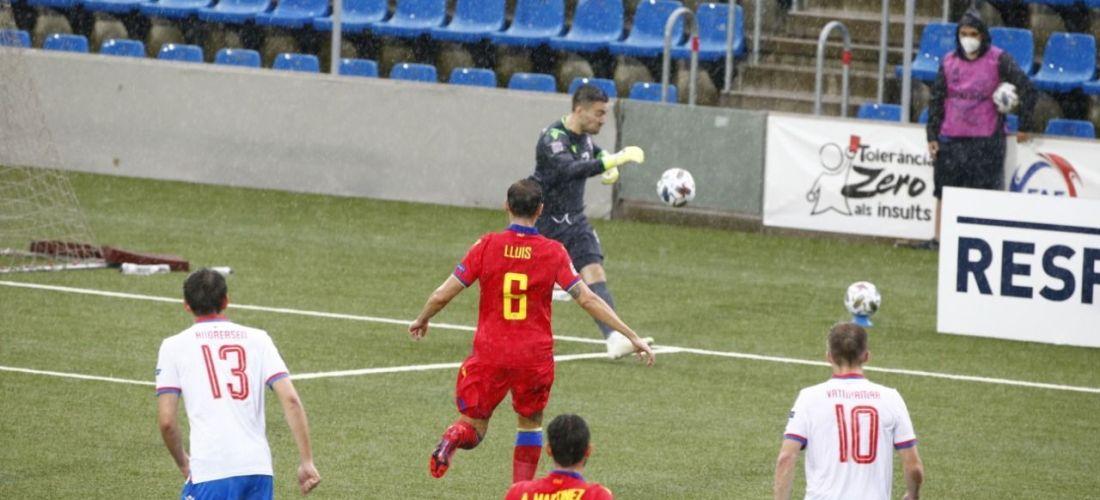 Andorra cau 0-1 davant les Illes Fàroe