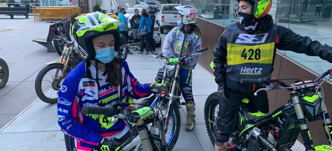Bona participació andorrana en el segon dia del mundial de trial a Andorra