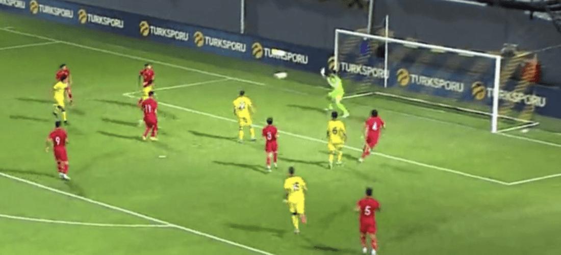 La sub21 cau 1-0 davant Turquia