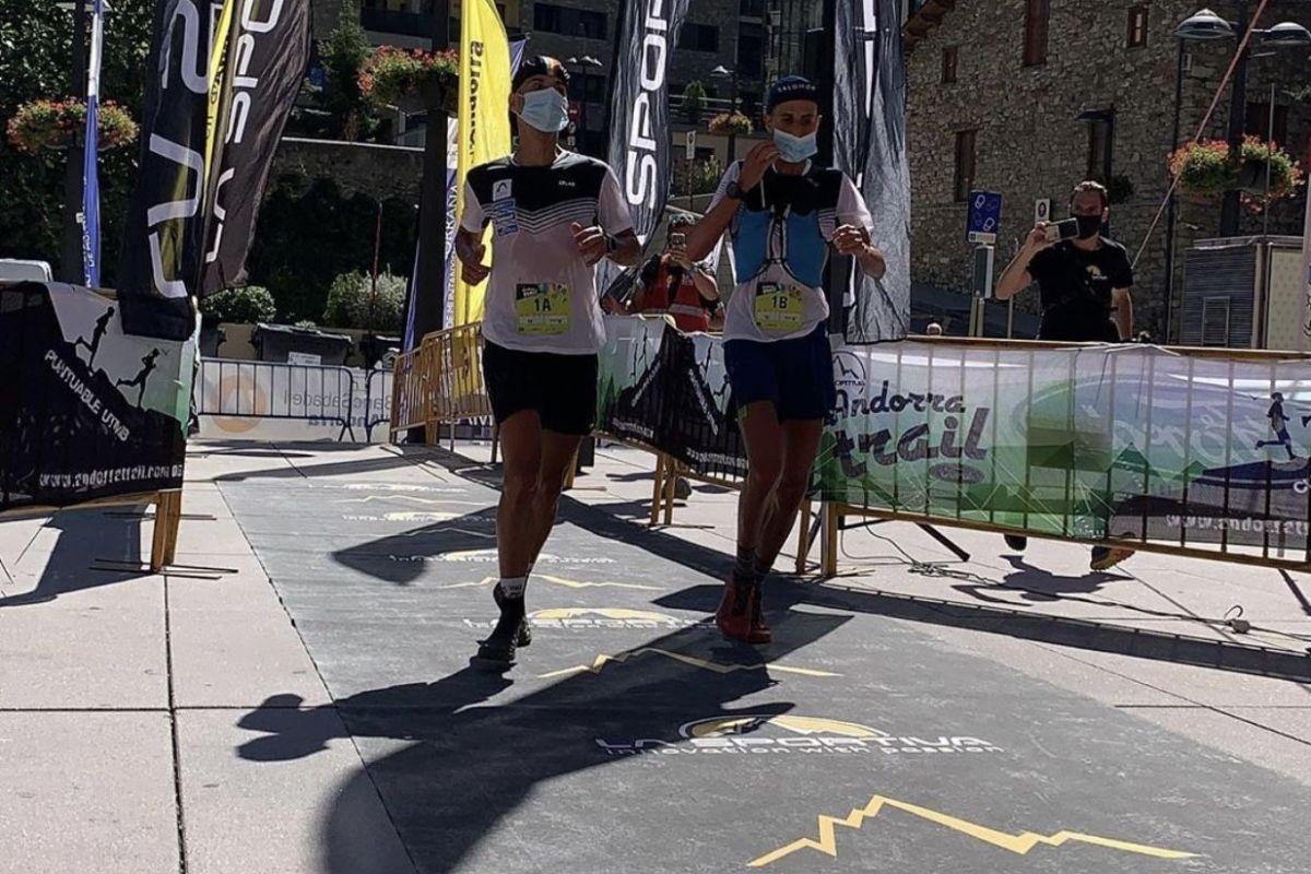Òscar i Marc Casal líders després de la primera etapa de La Sportiva Andorra Trail