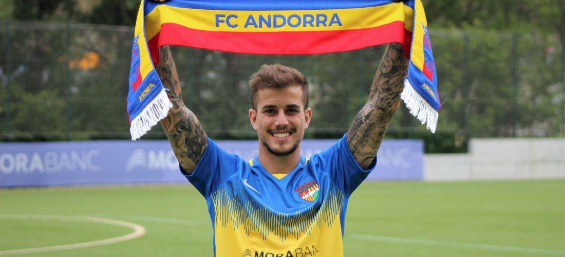 Isma Cerro, nou jugador de l'FC Andorra