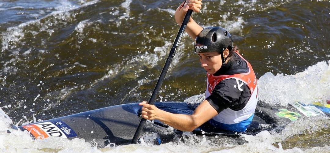 Mónica Dòria finalitza 10a a l'europeu de caiac