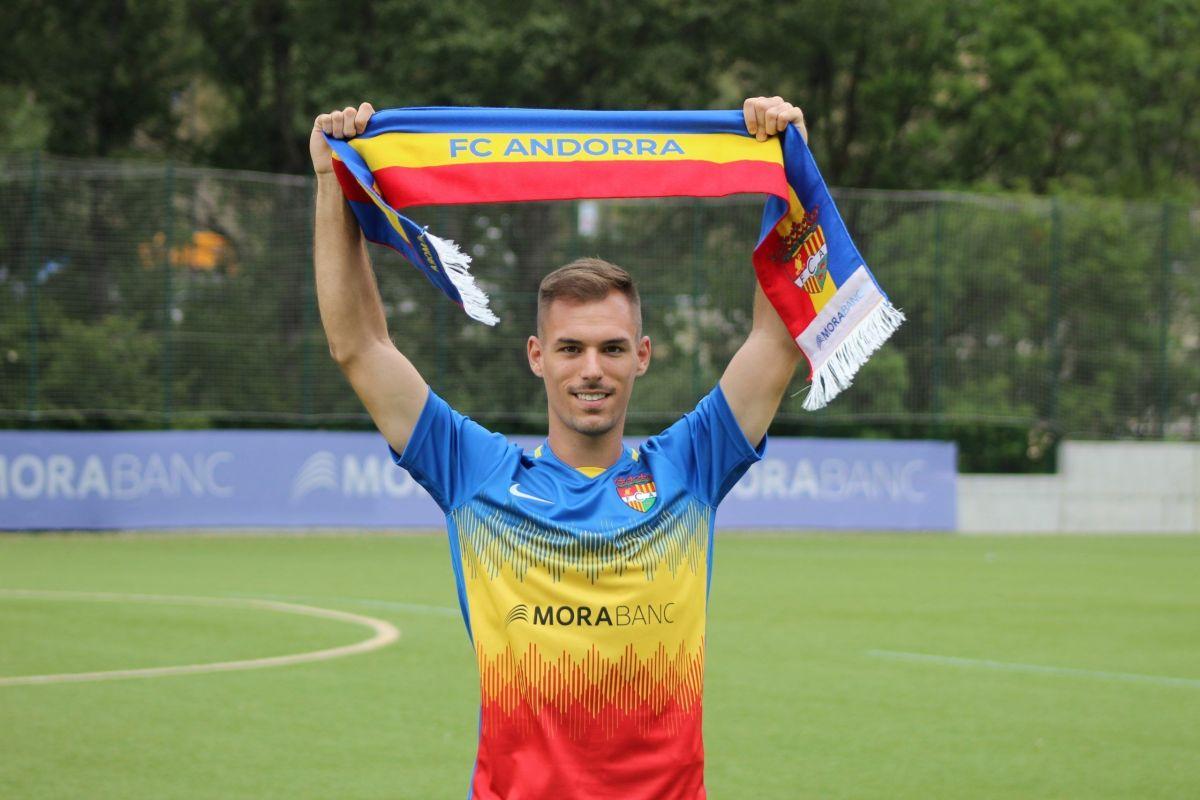 Rubén Enri, més pólvora per l'FC Andorra