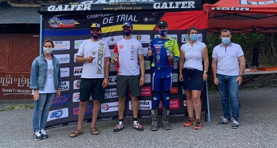 Jordi Lestang confirma el seu domini en el trial andorrà guanyant a Bixessari