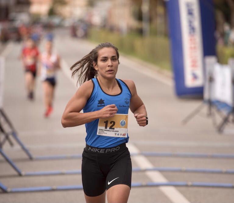 Xènia Mourelo acaba cinquena als 5K de Berga