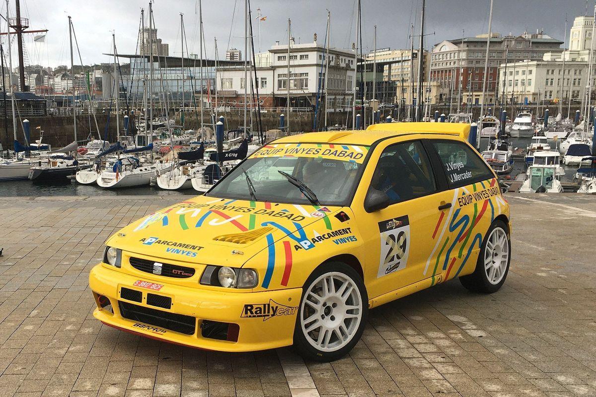 Vinyes-Mercader es queden sense debutar amb el Seat Ibiza kit car