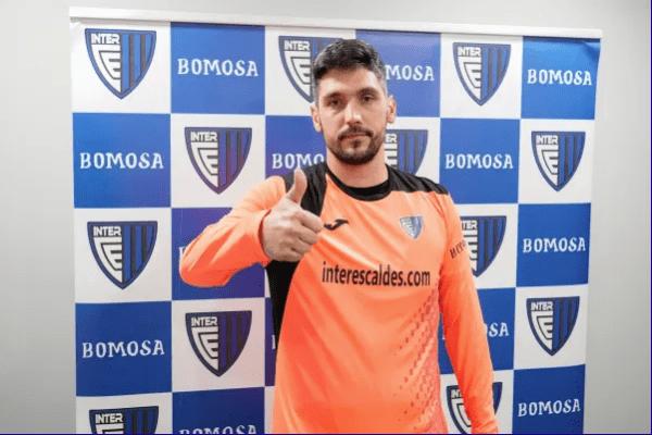 Gerardo Rubio, nou porter de l'Inter Escaldes