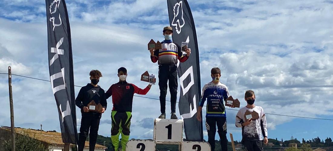 Arnau Graslaub es proclama campió de Catalunya de descens