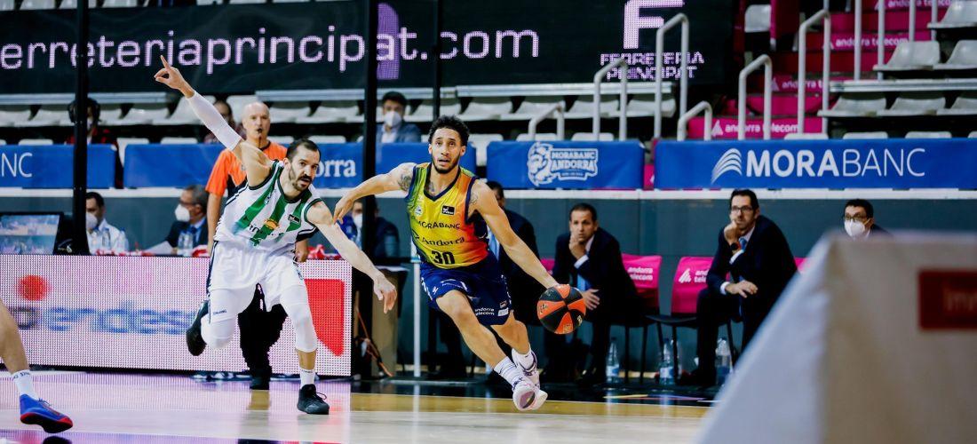 El Morabanc Andorra es queda a un pas del triomf davant el Joventut
