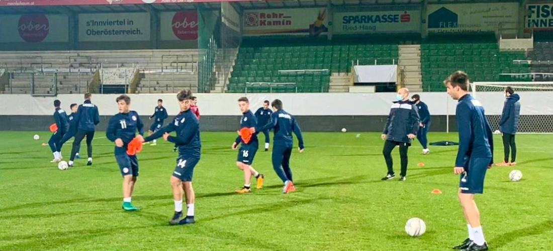 Àustria, el darrer partit com a Sub21 de la generació del 98-99
