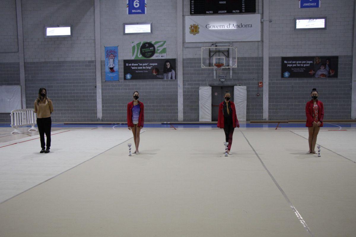 Èxit de la 31a Copa d'Andorra de gimnàstica rítmica