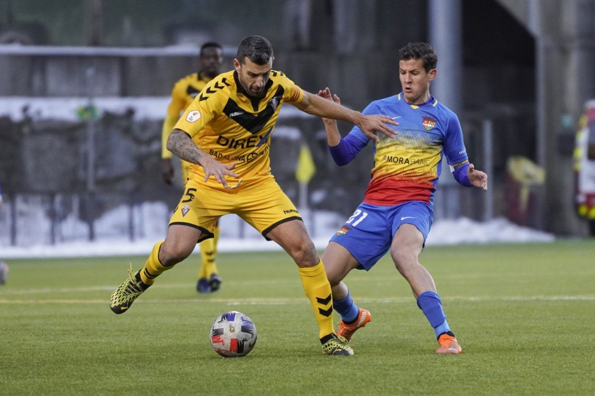 L'FC Andorra empata a 1 davant el CF Badalona