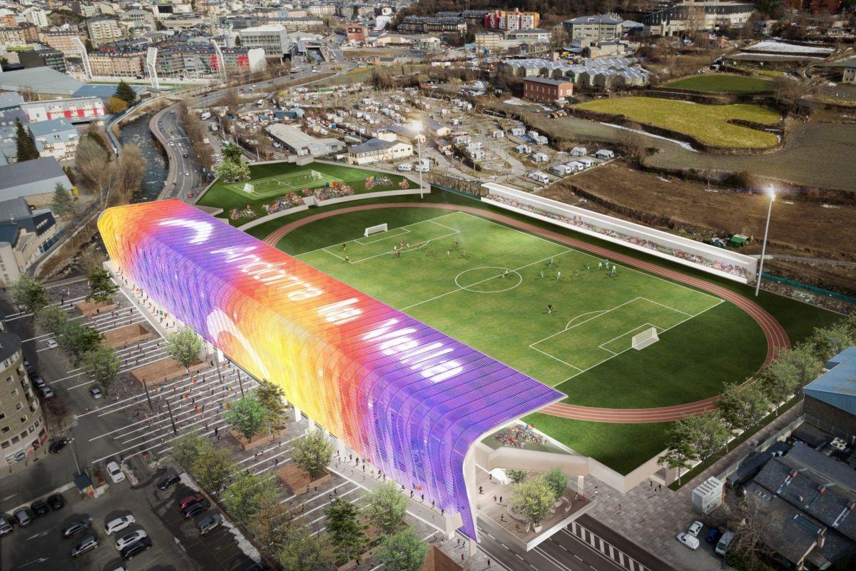 Un projecte que acosta l'Estadi Joan Samarra al públic