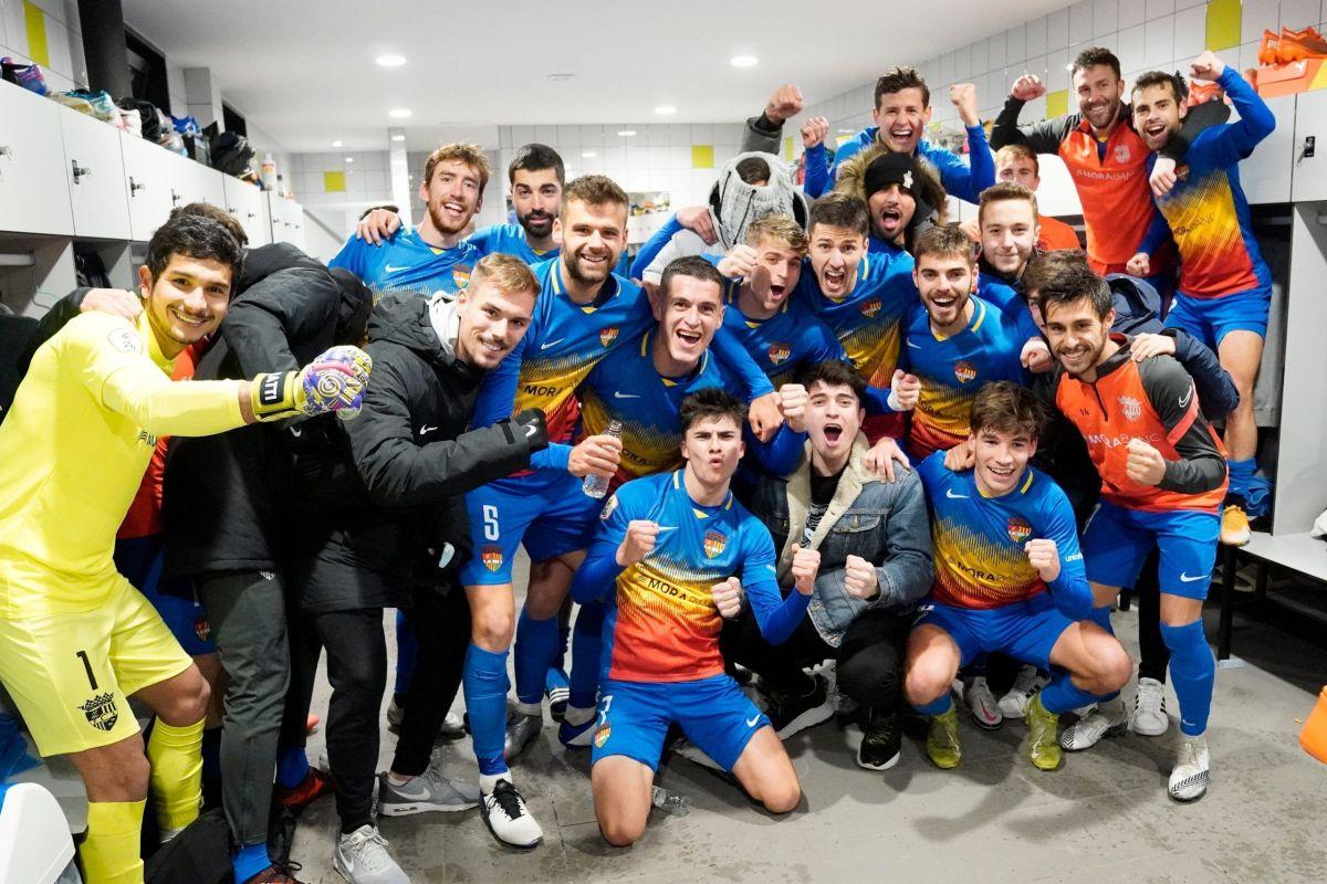 Martínez li dona els tres punts a l'FC Andorra