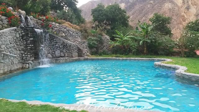 Piscinas naturales en el Oasis de Sangalle