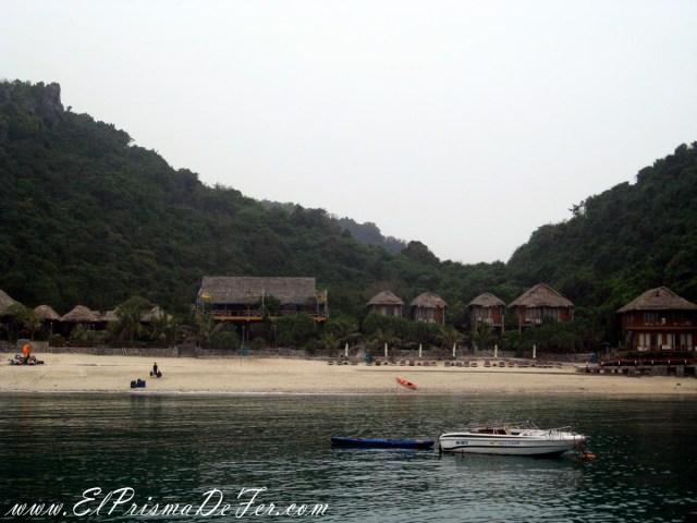 Monkey Island nublado