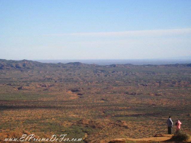 Vistas desde los Miradores en Sierra de las Quijadas
