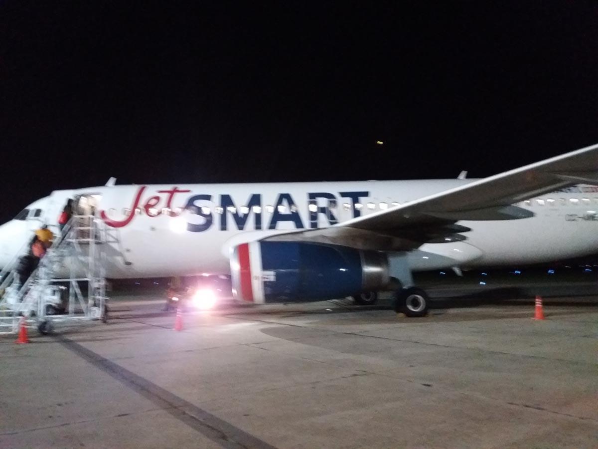 Volar en la lowcost JetSmart