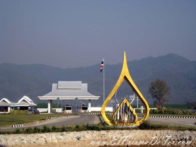Frontera entre Tailandia y Laos