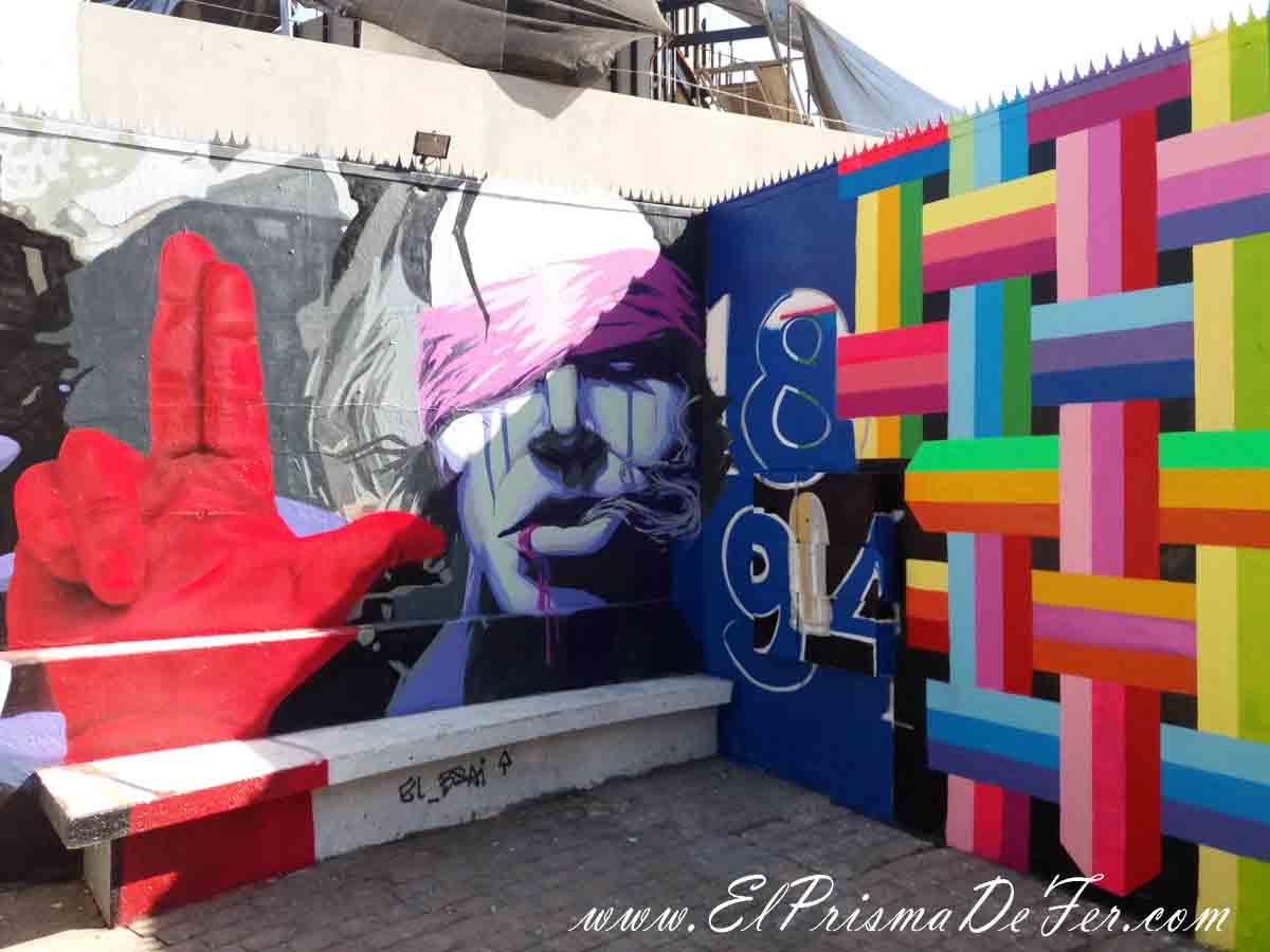 Arte callejera en Santiago de Chile