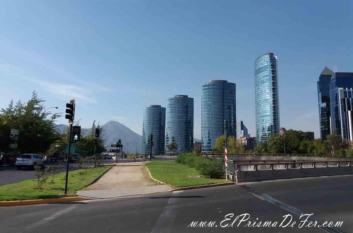 Contrastes en Santiago de Chile