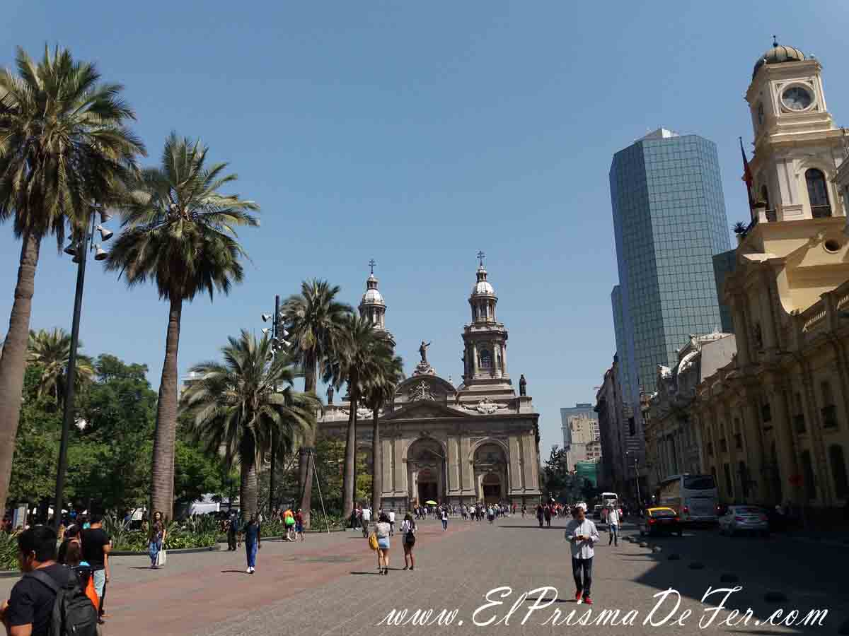 Plaza de Santiago de Chile
