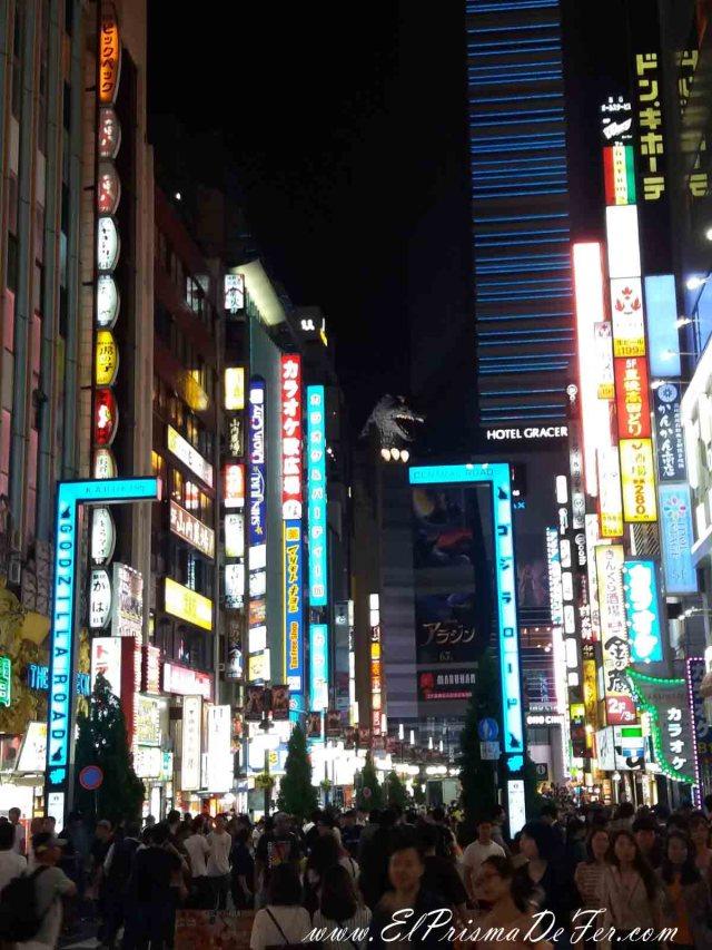 Godzilla en Shinjuku