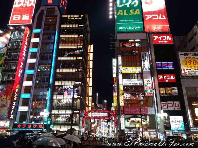 Noche en Shibuya