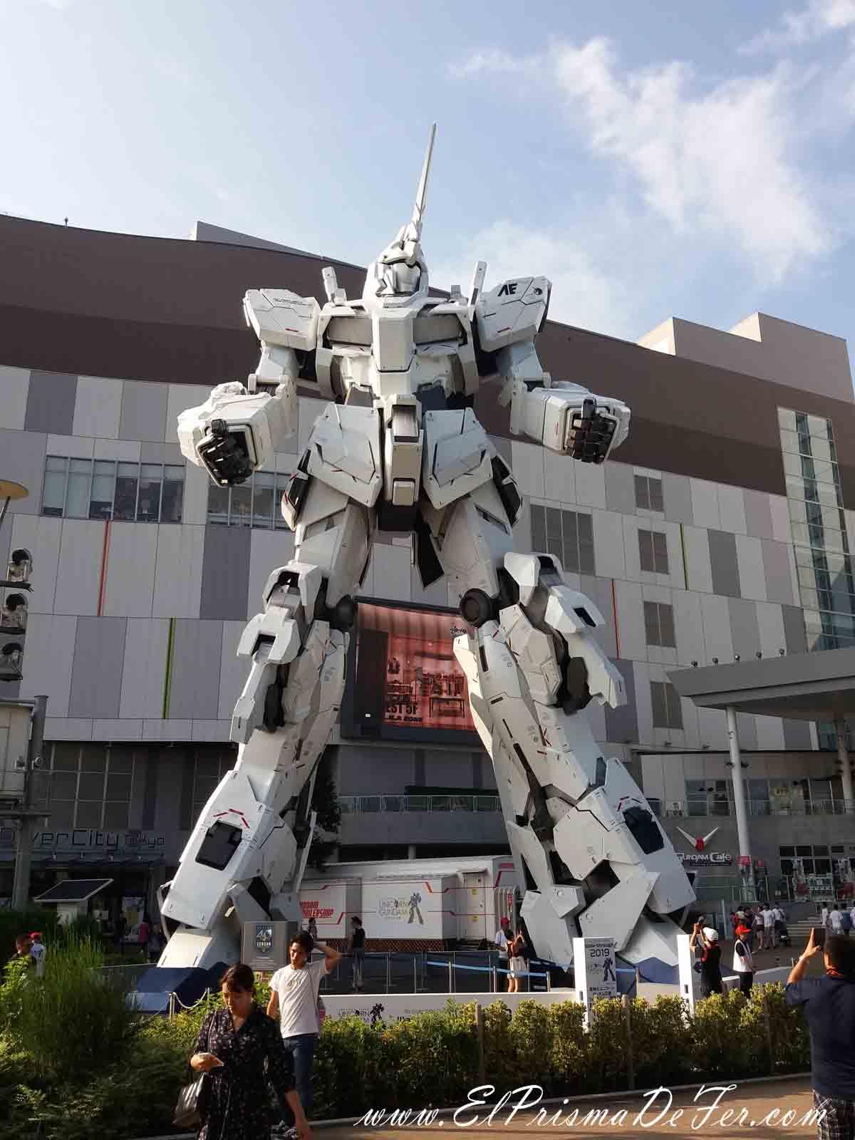 Robot Gundam en Odaiba