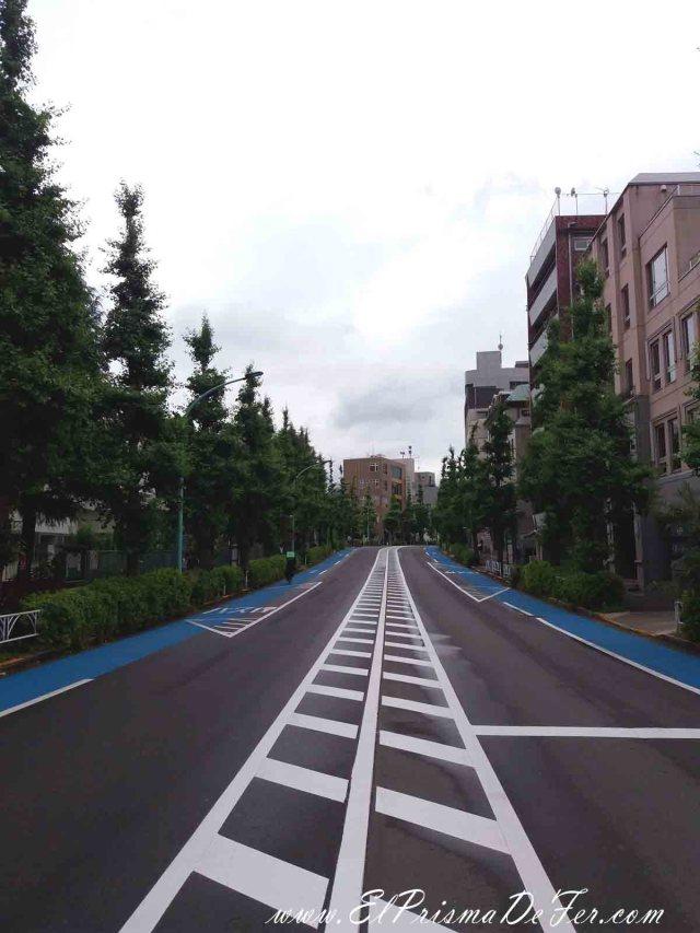 Calles impolutas en Tokyo