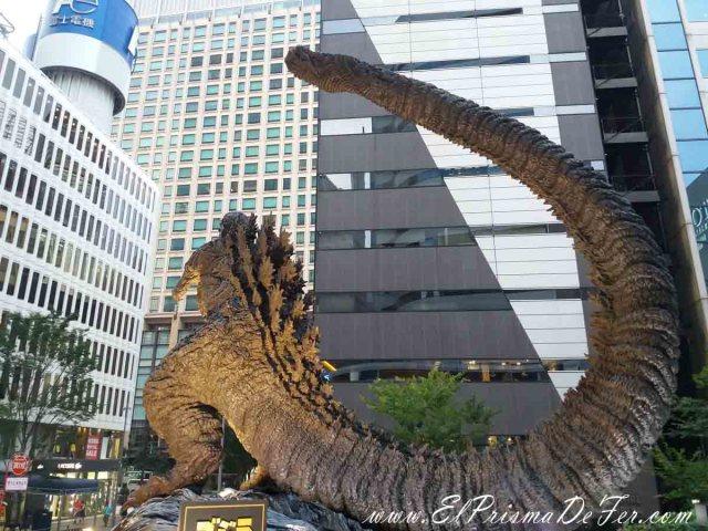 Godzilla en Roppongi Hills