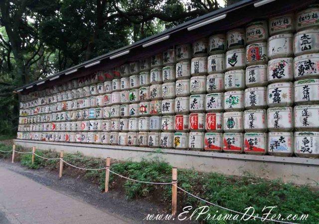 Bidones de Sake