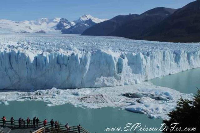 Vistas increíbles del Glaciar