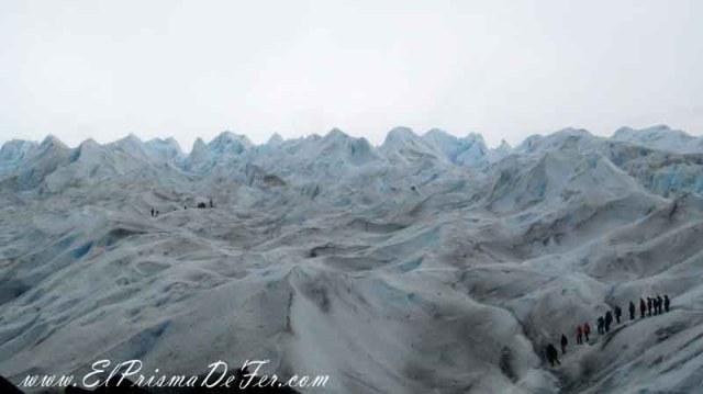 Trekking sobre el Glaciar Perito Moreno
