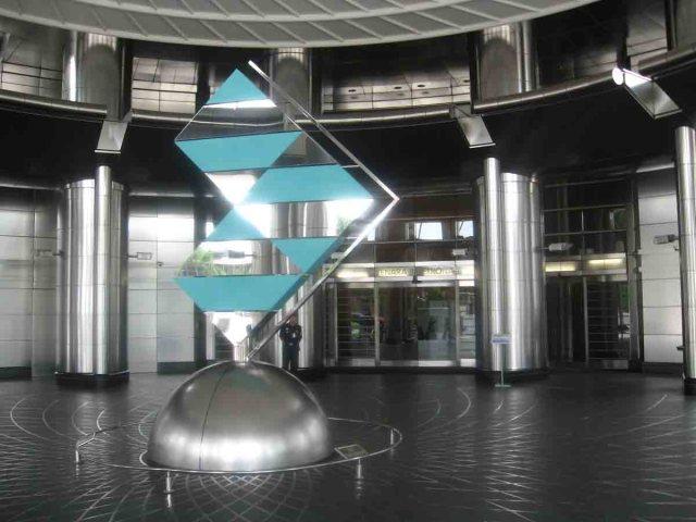 Hall de entrada de las Torres Petronas