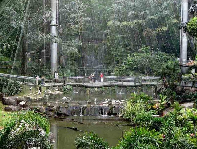 Aviario de Kuala Lumpur - Foto por  Bjørn Christian Tørrissen