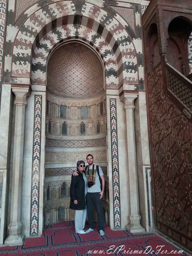 Interior de la Mezquita de Al-Nasser Mohammed Ibn Kalawoun