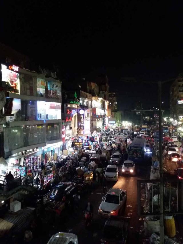 Bazar Jan El Jalili de noche