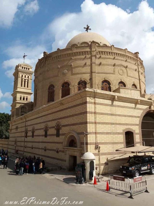 Iglesia de Saint George en el Barrio Copto de El Cairo
